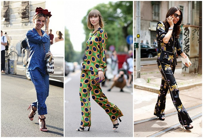 Pajama fashion style - How to dress for work in summer and not look boring