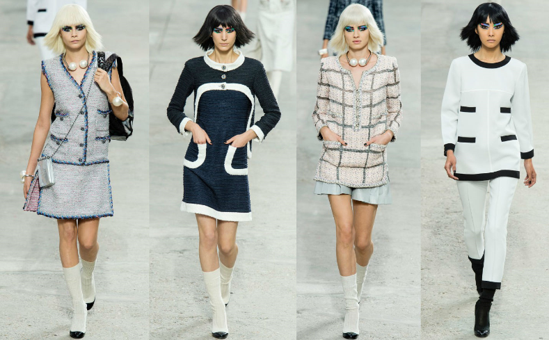chanel style - How to dress for work in summer and not look boring