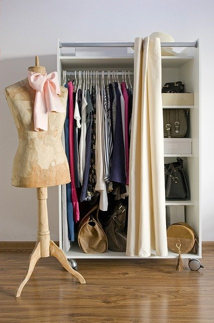 wardrobe - How to be a stylish girl if you are lazy.