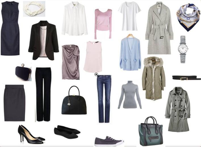 basic wardrobe2 - Basic wardrobe planning from scratch.