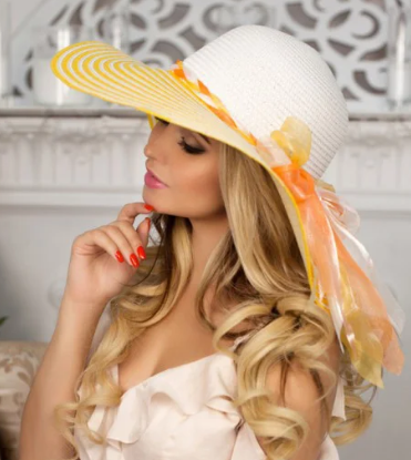 elegant summer hat - Types of accessories for ladies and girls