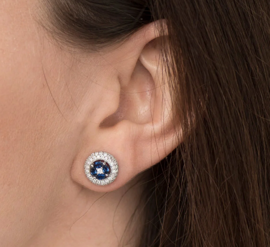 plain earrings - Types of accessories for ladies and girls