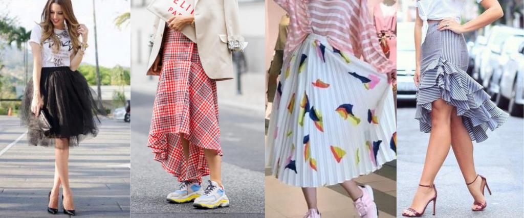 pretty women skirts 1024x427 - Pretty summer skirts which are always in fashion.