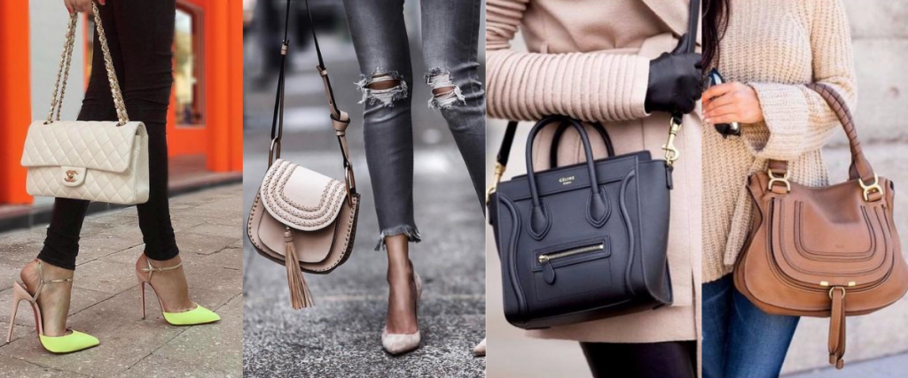 women fashion bags 1024x427 - Types of accessories for ladies and girls